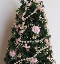 DOLLHOUSE Pink Christmas Tree dhs4597 Doll House Shoppe Miniature 1:12