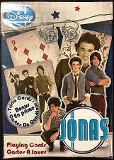 Jonas Brothers Deck Playing Cards Poker Size USPCC Disney Custom Limited Sealed