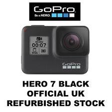 GoPro Hero 7 Black - 4K60 Ultra HD HDR HyperSmooth Live Stream Camera REFURB