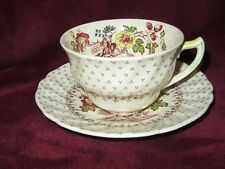 Vintage Royal Doulton Grantham Coffee Tea Cup and Saucers D5477 Made in England
