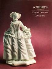 SOTHEBY'S ENGLISH CERAMICS & ENGLISH PORCELAIN BOW AND LONGTON HALL STEWART COLL