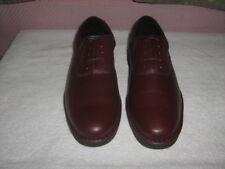 New Stuart McGuire Brown Leather Oxford Shoes Mens Sz 12D