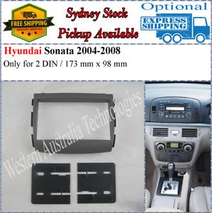 Fascia facia Fits Hyundai Sonata 2004-2008 Double Two 2 DIN Dash Kit