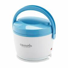 Crock-Pot Lunch Crock 20 oz Food Warmer Blue White SCCPLC200-BL Heat and Eat NEW