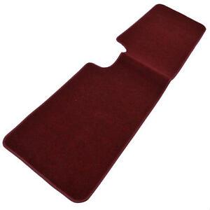 1pc Set Burgundy Heavy Duty Carpet SUV Van Pickup Floor Mats Rear Liner Rug