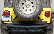 Rear Rock Crawler Crusher SRS Bumper Jeep Wrangler
