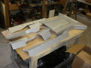 JAGUAR XJS LOWER EXHAUST SHIELDS - UNDER BODY SHIELDS