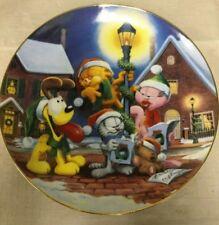 Garfield Sounds of Christmas Danbury Mint Collector Plate Jim Davis