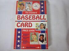 El estándar Béisbol Tarjetas PRICE GUIDE - 2nd EDICIÓN 1990
