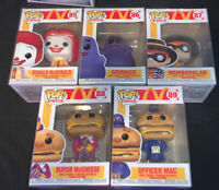 FUNKO POP MCDONALDS AD ICONS COMPLETE SET MINT CONDITION IN HAND