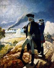 Newell Convers Wyeth Washington At Yorktown Print 11 x 14      #4537