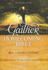NEW Hardcover! NKJV (Bill & Gloria) Gaither Homecoming Bible - RTL.$45