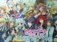 Heroine Calendar Booklet 2013-14 Japanese Anime High School DxD Date A Live MP