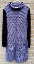 Joe Browns Women's Tunic Dress with Pockets Size 8  Geometric Pattern