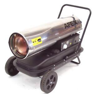 Heizkanone Bauheizer Diesel Heizung Heizgebläse Ölheizgerät 30kW Hallenheizung