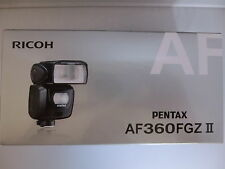New Pentax Automatic Flash AF360FGZ II for K3,K-5 II ,K-5 II s,K50