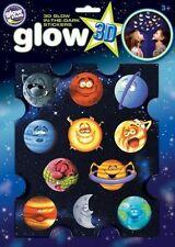 Lustiges Planeten von Original Glowstars Company - Leuchtende 3D Aufkleber