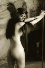 War Photo female bird sexy woman Pin Up WW2 4x6 inch F
