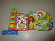 Vtech Talking Musical Rhymes Learning Book & Fp Storybook Rhymes
