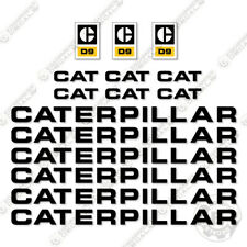 Caterpillar D9 Dozer Decal Kit Equipment Decals 1970's