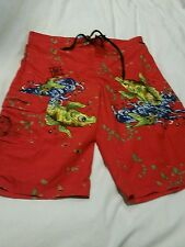 Designer Boys Board Shorts By Ed Hardy Size XL