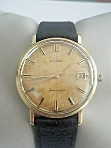 Omega Seamaster. stainless steel / 18k yellow gold. (no reserve price )
