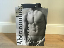 Used - ABERCROMBIE & FITCH - bolsa de papel - Paper bag -