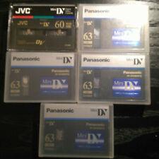 5 MiniDv Tapes Panasonic and JVC