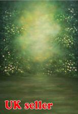 Telón de fondo de madera bosque verde wallpaper de fondo Vinilo Foto Prop 5X7FT 150x220CM