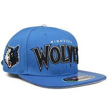 Minnesota Timberwolves WORDMARK Blue Strapback Pro Standard NBA Hat