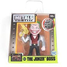 THE JOKER BOSS Suicide Squad DC Comics Jada Toys Metals Die Cast 2.5 M422