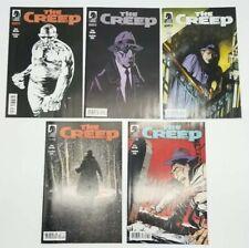 The Creep 0 1 2 3 4 Complete Set 0-4 Dark Horse Comic Book Lot August 2012