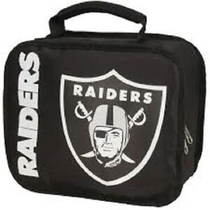 Northwest NFL Football Lunchbox Oakland Raiders Insulated Lunch Box New