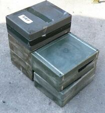 German Army Surplus Box Storage military container EDC survival