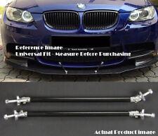 """Carbon 9.5"""" Bumper Lip Diffuser Spoiler Splitter Strut Support Rod Bar for VW Po"""