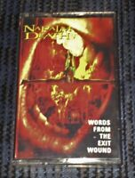 Napalm Death- Words From The Exit Wound Cassette Tape Played Rare