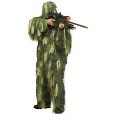 Mens Ghillie Suit Camouflage Costume size Standard