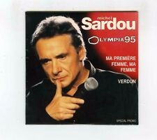 CD SINGLE PROMO (NEUF) MICHEL SARDOU OLYMPIA 95 MA PREMIERE FEMME