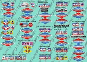 Plaques Tour de France Collection véhicules publicitaires Hachette