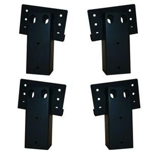 Elevators 4 in. x 4 in. Double Angle Brackets (4-Set)