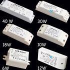 12V 6W 10W 12W 18W 30W 40W LED MR11 MR16 Light Driver Power Supply Transformer