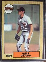Will Clark Baseball Card #420 Topps San Francisco Giants MLB HOF Free Ship NM-MT