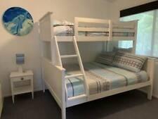 Fantastic Furniture Jordan Triple Bunk Bed White **good condition