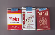 SET OF 3 DUMMY US VIETNAM WAR ERA  CIGARETTE PACKS (REPRO)