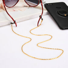 Glasses Holder Neck Metal Strap Cord Sunglasses Chain Reading Non-slip Link US