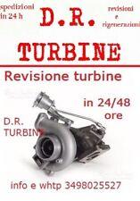 TURBO TURBINA REVISIONATA ALFA ROMEO BRERA 159 FIAT CROMA 2.4 JTDM GARANZIA