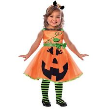 Amscan Cute Pumpkin 4-6 Years Baby Toddler Halloween Fancy Dress Outfit Costume
