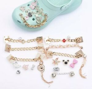 New Brand Shoes Charms Designer Shoe Charms Women Rhinestone Girl Best Gift