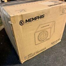 """Memphis PRXE12S2 12"""" 300W RMS 2-Ohm Enclosed Subwoofer - $325"""