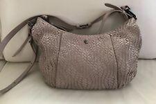 ELLIOT LUCCA woven leather Bali  hobo light Brown shoulder bag Crossbody Bag